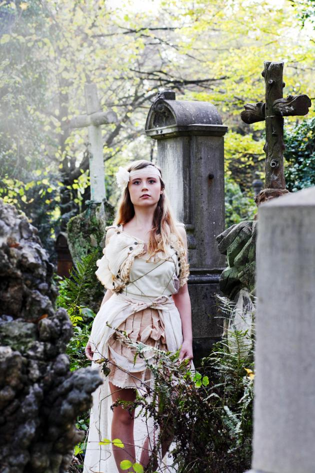 Rustic Ethereal Woodland Dress Custom-Made in Australia