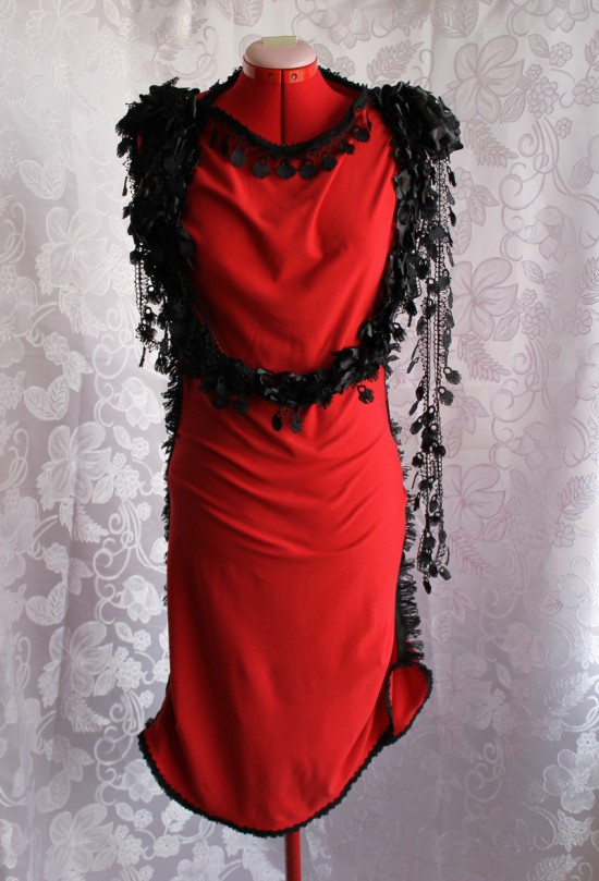 Visual Kei Style Fantasy Dress for Halloween