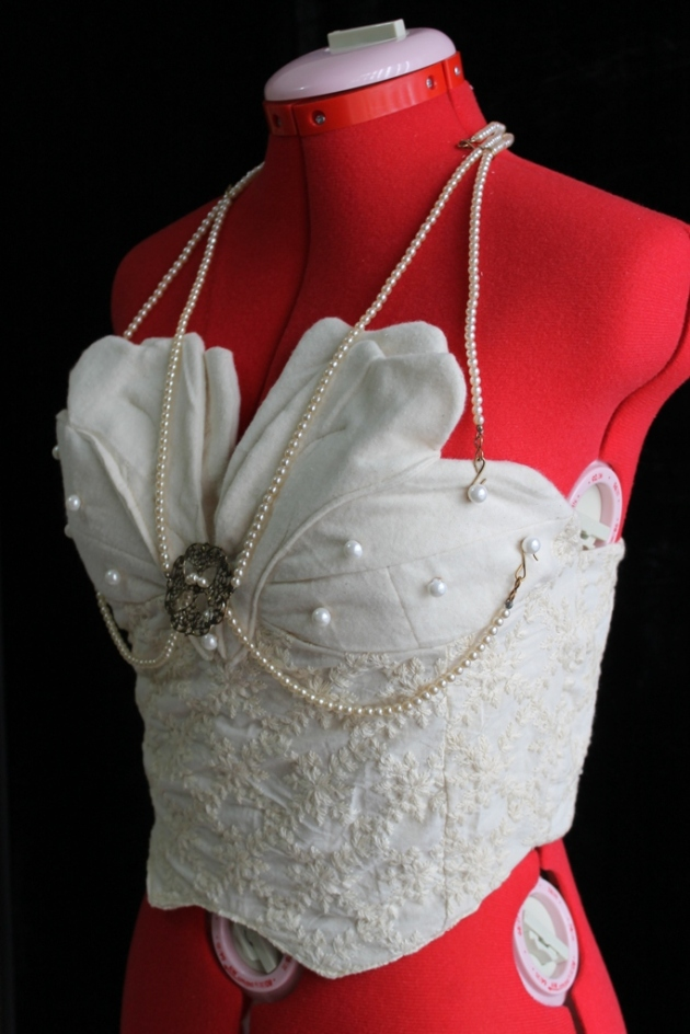 Romantic Flower Petals Bustier Made in Australia