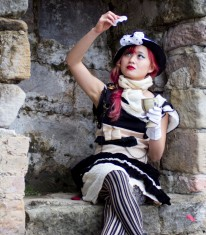 Gothic Lolita, Visual Kei, Victorian-Inspired Costume Made in Australia