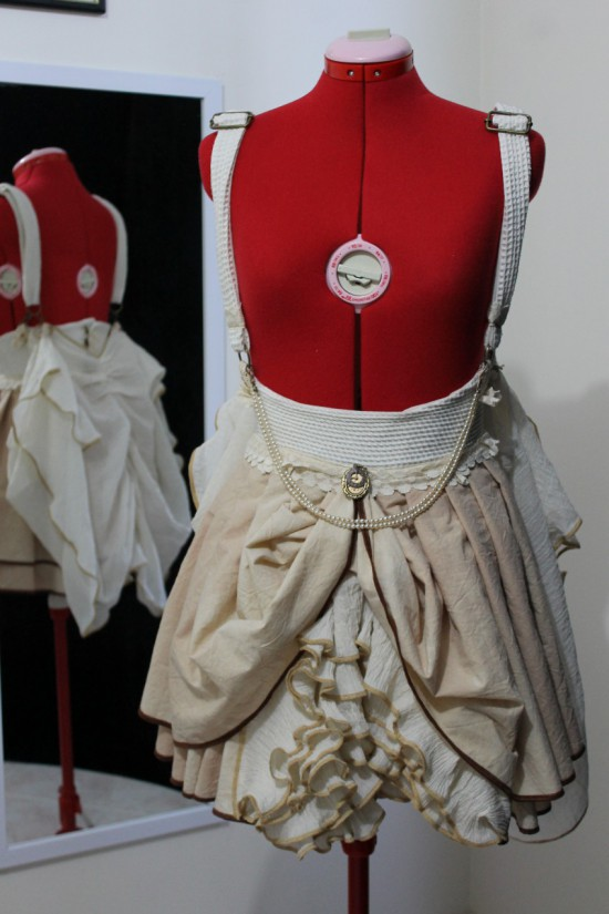 Mini Skirt with 'Butterfly' Wings