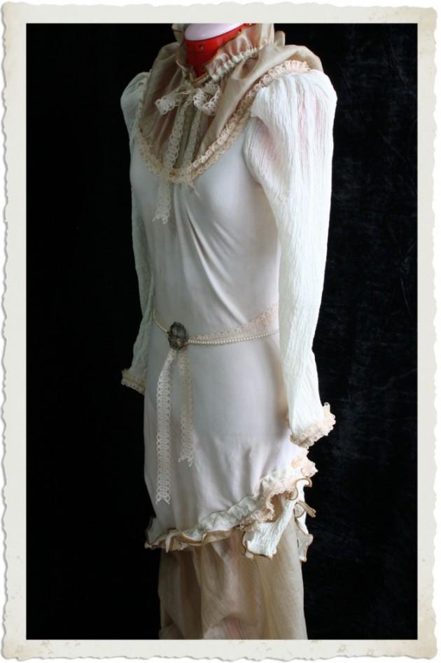Victorian-Inspired Steampunk Woodland Dress