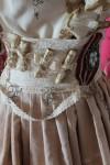Rustic Steampunk Skirt Handmade in Australia