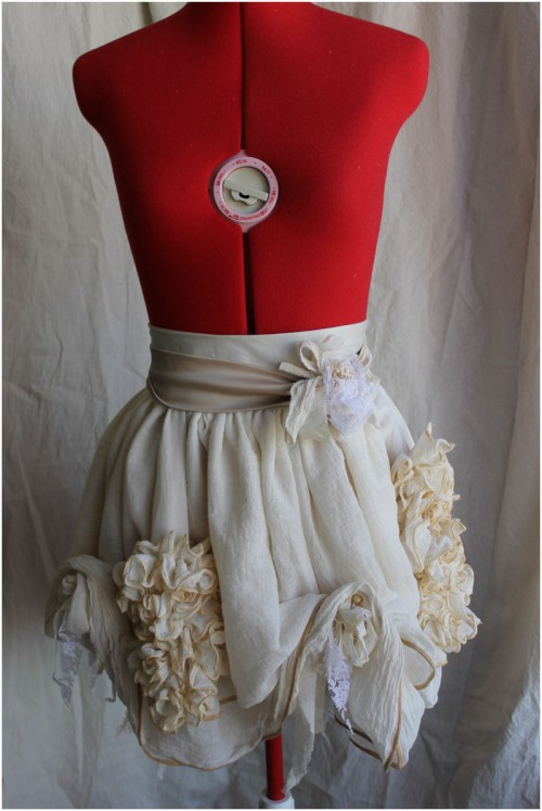 Muslin Garden Mini Bustle Skirt Made in Australia
