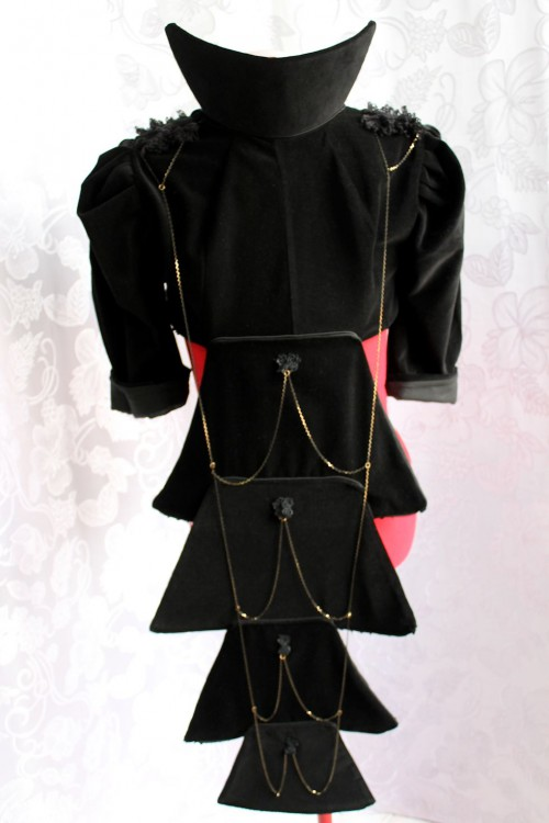 Avant-Garde Neo-Victorian Tailcoat