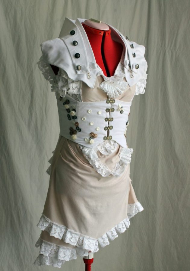 Steampunk Seaside Corset Dress