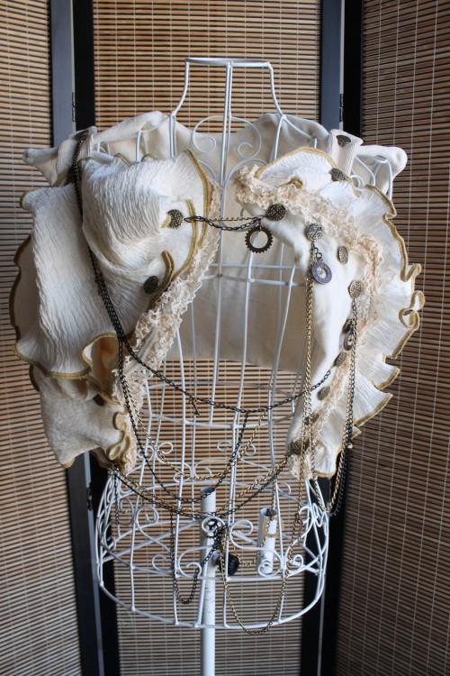 Brass Buttons Organic Velvet Vest Made in Australia