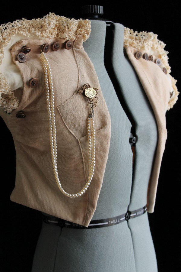 Custom Rustic Steampunk Vest Made in Australia