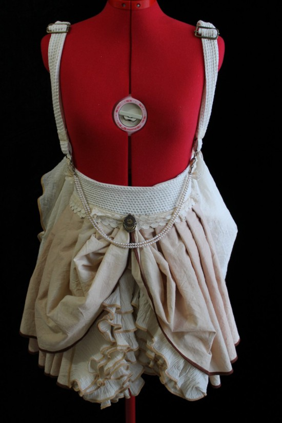 Suspender Ruffle Skirt Handmade in Australia
