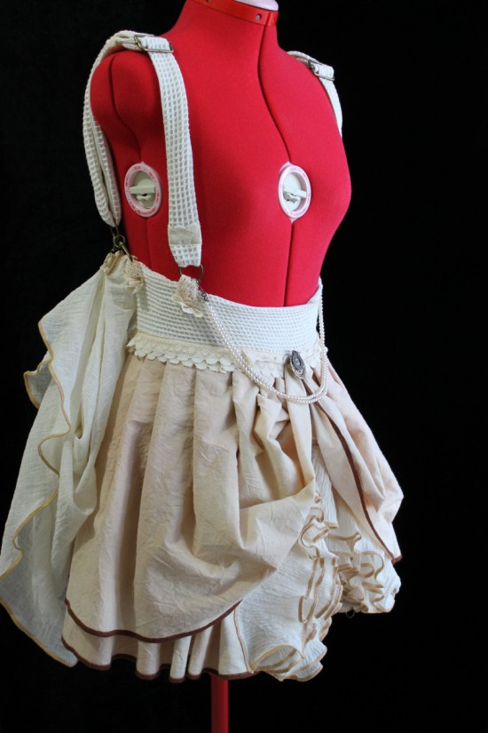 Steampunk Suspender Skirt Made in Australia