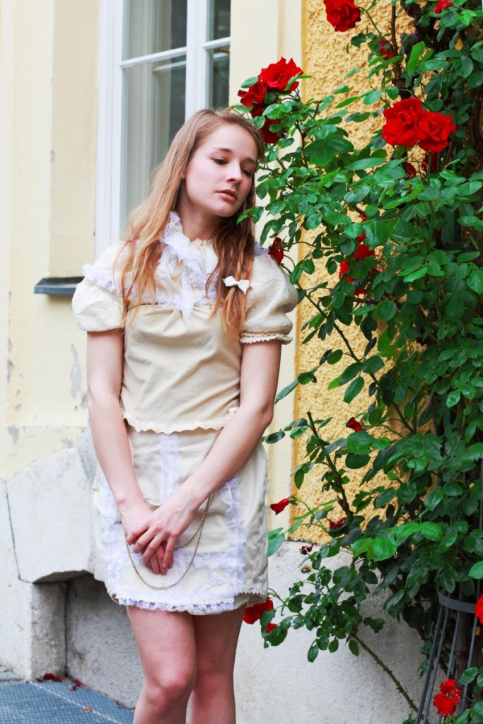 Victorian-Inspired Cottage Lolita Blouse