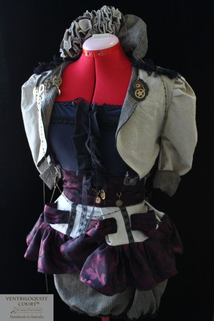 Custom Steampunk, Circus, Visual Kei Chimes Outfit, Various Colour Options