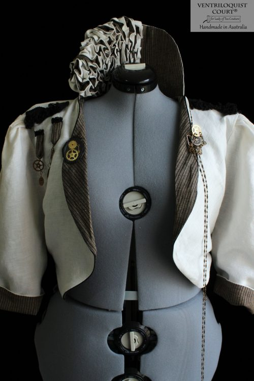 Antique-style Steampunk linen clothing made in Australia