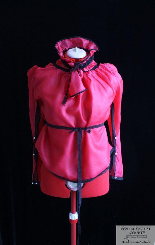 Gothic Sheer Silk Blouse Made in Australia