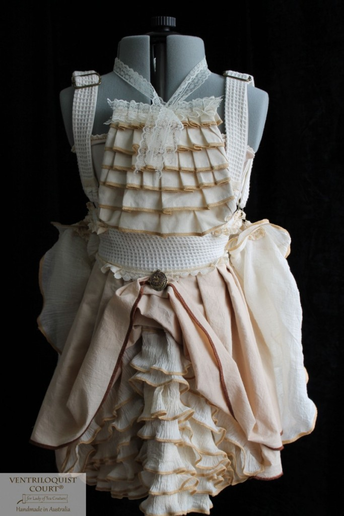 Rustic Romantic Woodland Bustle Costume Made in Australia