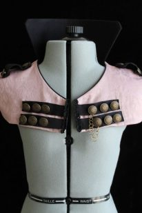 Gold, Dusty Pink, or Green Damask Circus Capelet