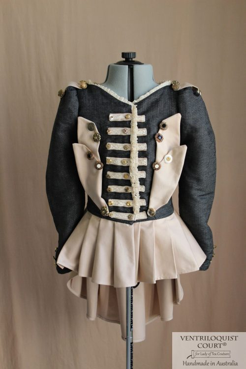 Visual kei circus military costume jacket