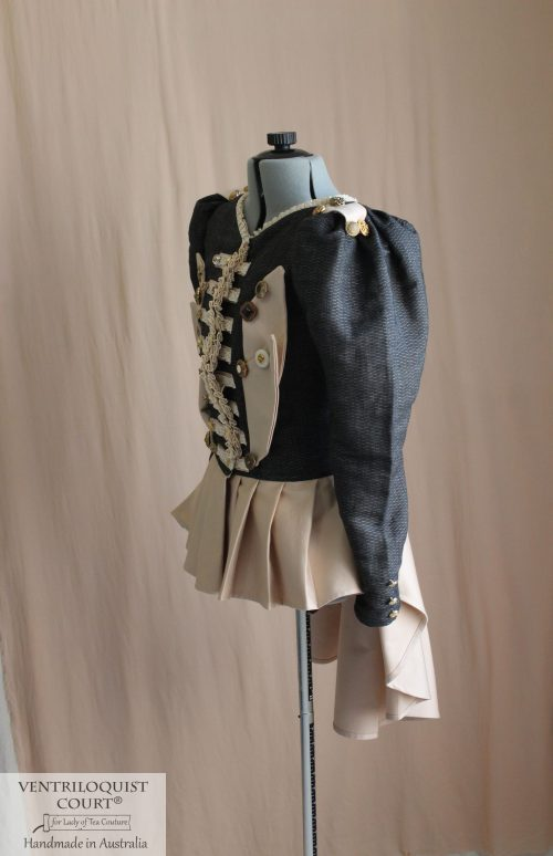 Steampunk military jacket custom-made in Australia