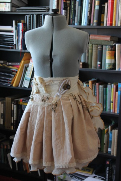 Rustic Steampunk Skirt Custom-Made in Australia