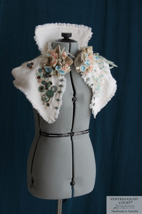High-fashion Eco Steampunk High-neck Collar Inspired by Victorian Costumes