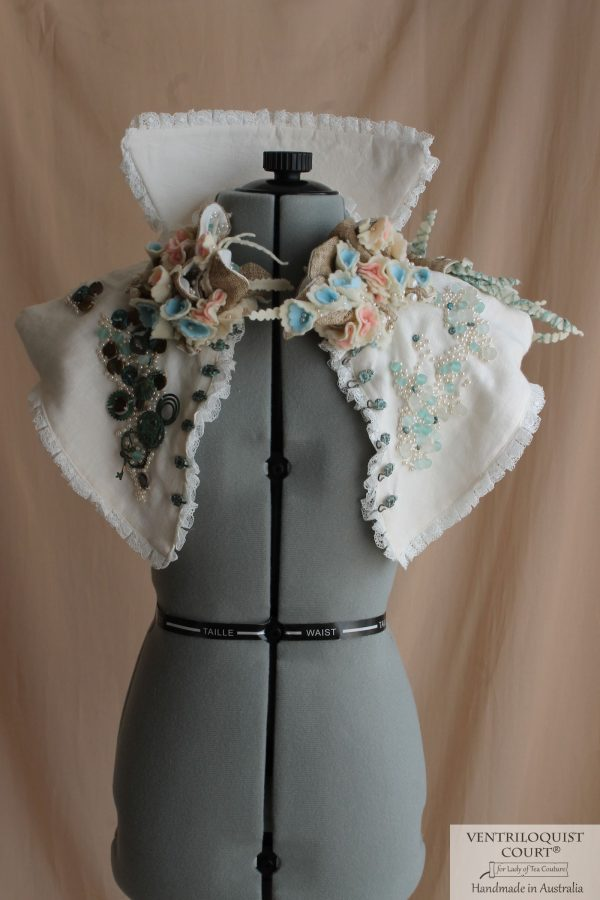 Romantic Wedding & Formal Capelet Inspired by Victorian-era Costumes