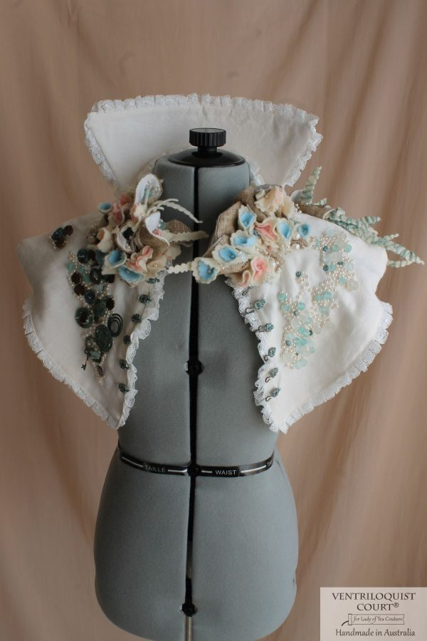 Seaside, Shipwreck, Steampunk High-neck Collar for Costume Events