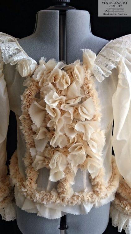 Victorian-style Silk Blouse