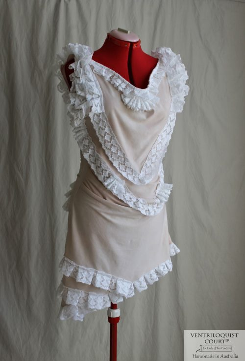 Shipwreck Style Lace Bustle Dress