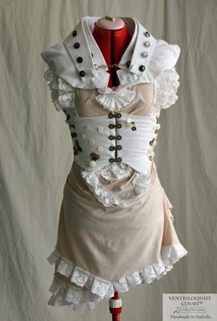Seaside Steampunk Dress