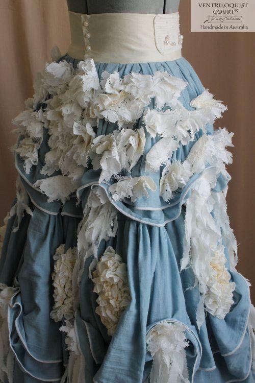Bohemian Muslin & Lace Petticoat