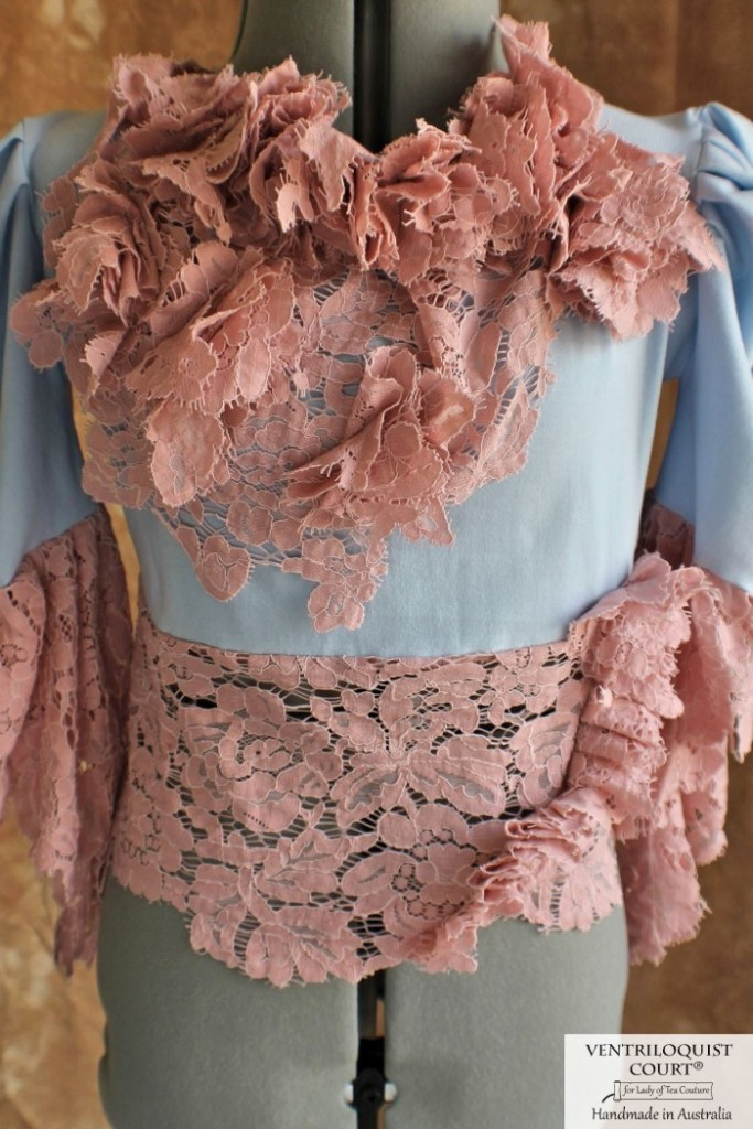 Bohemian Lace Blouse Made in Australia