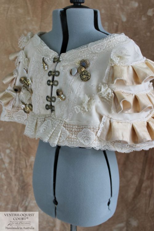 Victorian-Inspired Romantic Steampunk Capelet Made in Australia