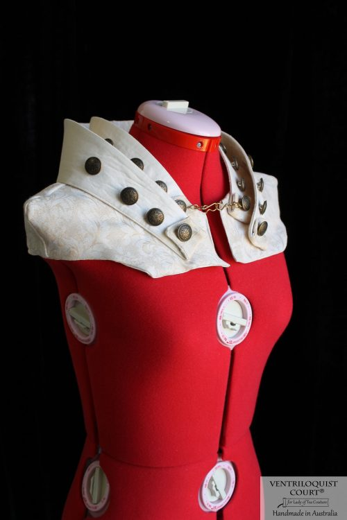 Avant-Garde, Sci Fi, Visual Kei, Circus, Steampunk Collar Made in Australia