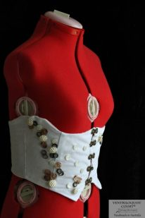 Beach Wedding Underbust Corset