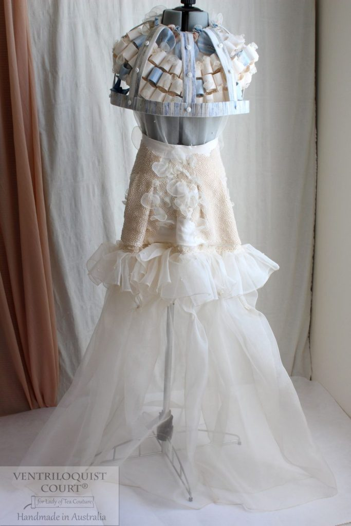Couture Dress, Birdcage Fashion, Formal Gown