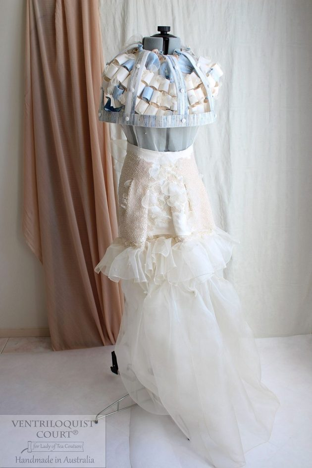 Birdcage Fashion, Rustic Wedding Dress