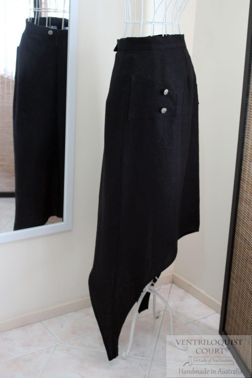 Dark Steampunk Avant-Garde Skirt;