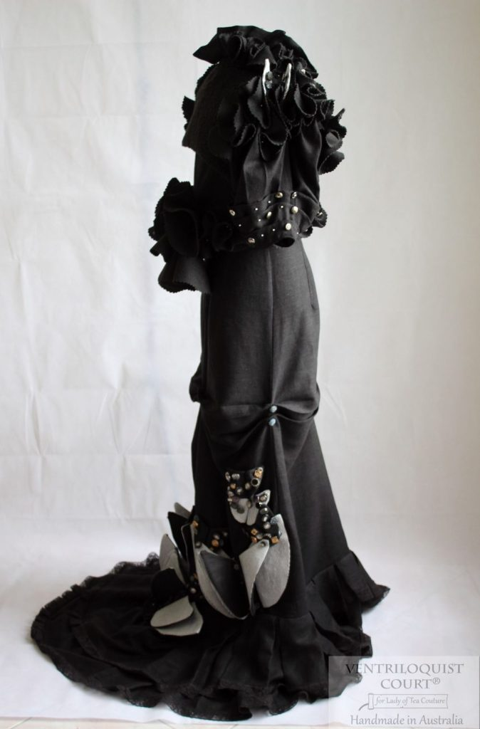 Gown Designed by Ventriloquist Court® - Eco-friendly Avant-Garde 3pc Gown