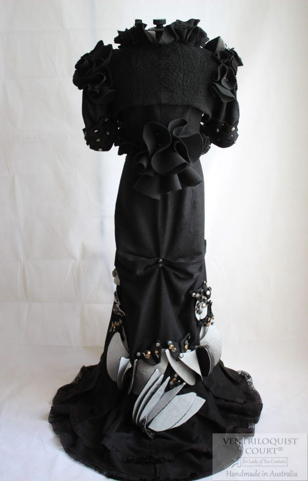 Avant-Garde Gown Handmade in Australia by Ventriloquist Court®