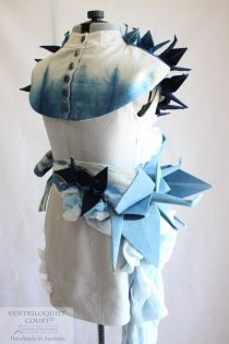 Origami Bird Abstract Art Dress Handmade in Australia