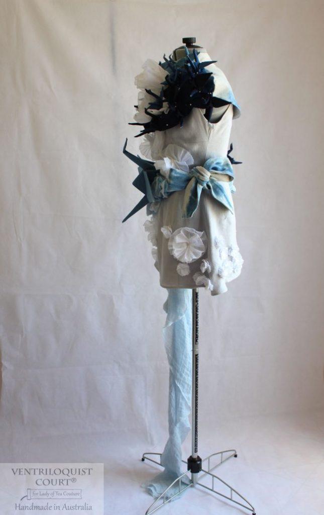 Conceptual Fashion Wedding Dress - Origami Birds