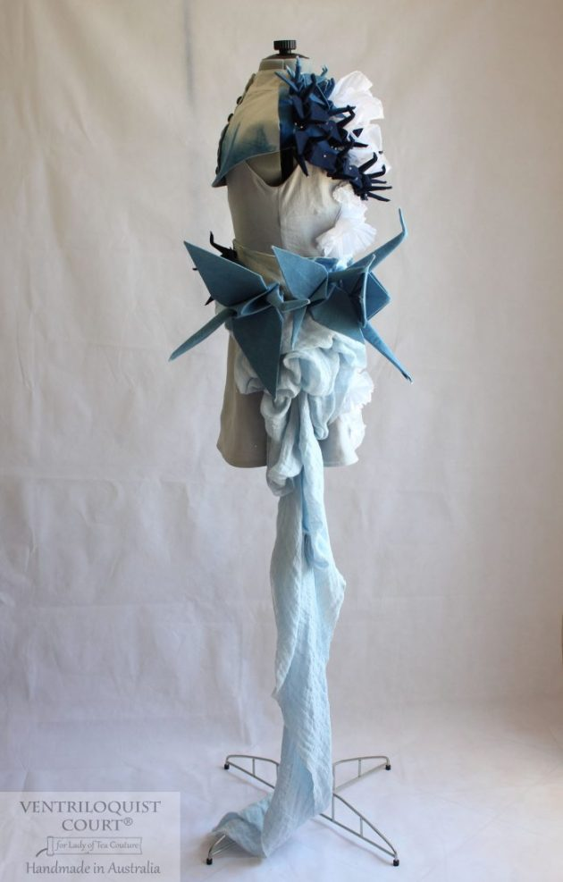 Origami Bird Eco-friendly Wedding Dress