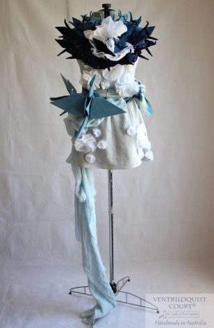 Fashion Art Wedding Dress Made in Australia