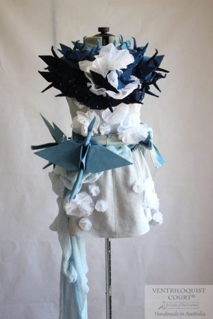 Origami Bird Avant-Garde Art Dress