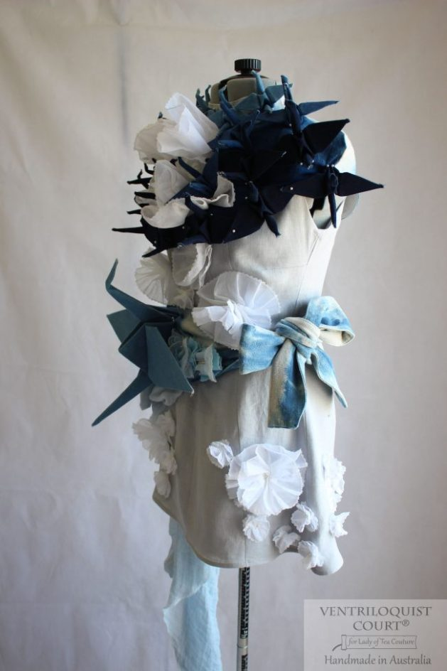 Textile Art Dress for Alternative Weddings