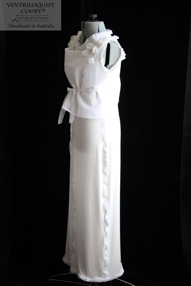 Romantic Flowly Dress Handmade in Australia