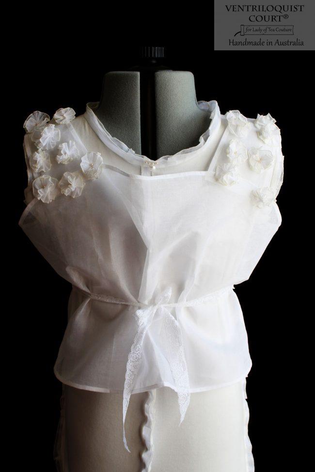 Sheer Floral Buds Dress