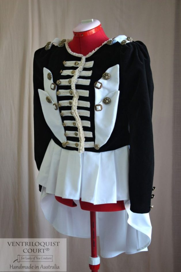 Steampunk Circus Style Jacket Tailor-Made in Australia