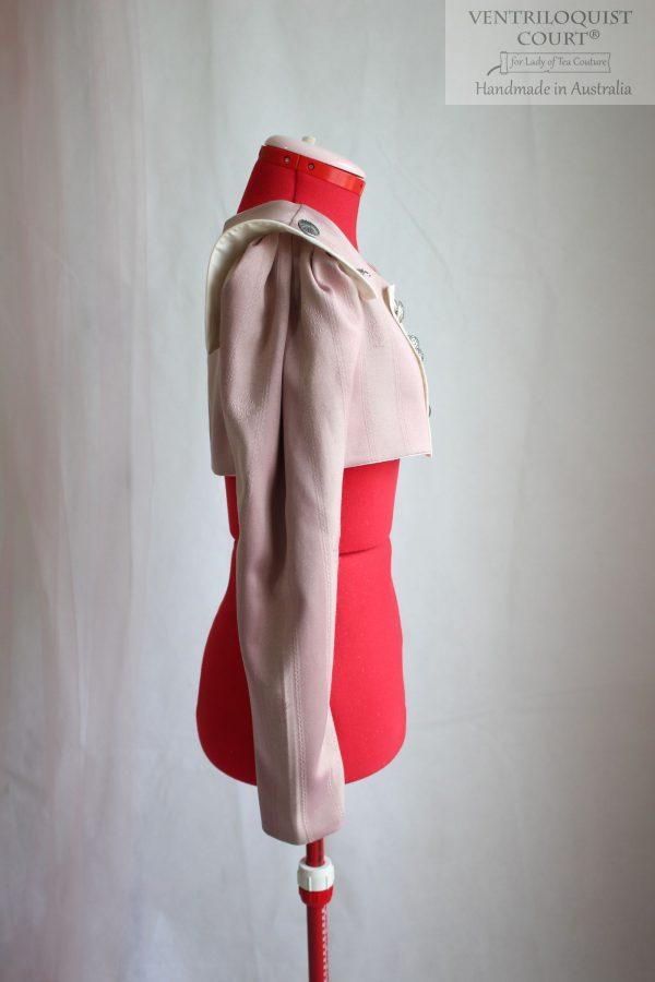 Neo-Victorian Cropped Jacket Handmade in Australia