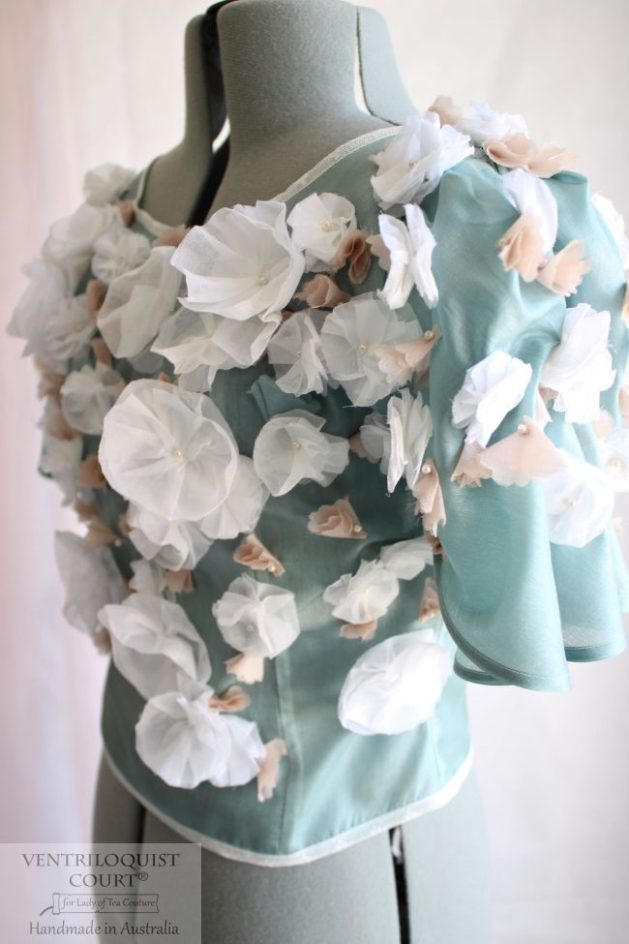 Sheer Fairy Tale Wedding Blouse